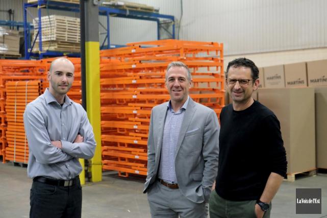 Établie à Farnham, Martins Industries prévoit doubler son... (Alain Dion, La Voix de l'Est)