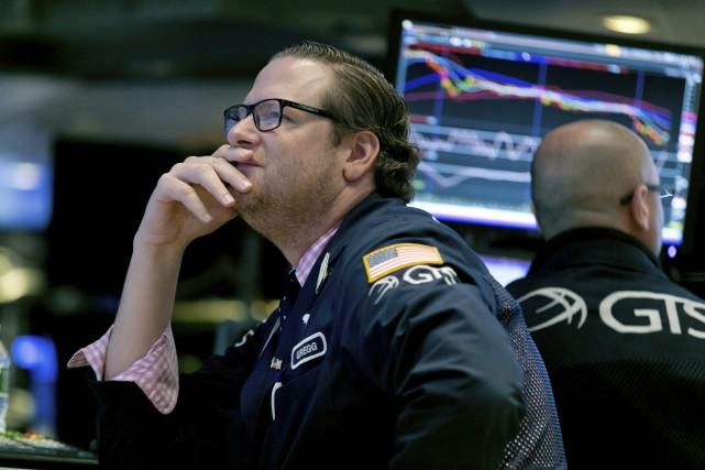 «Les indices américains semblent être prêts à rebondir... (AP)