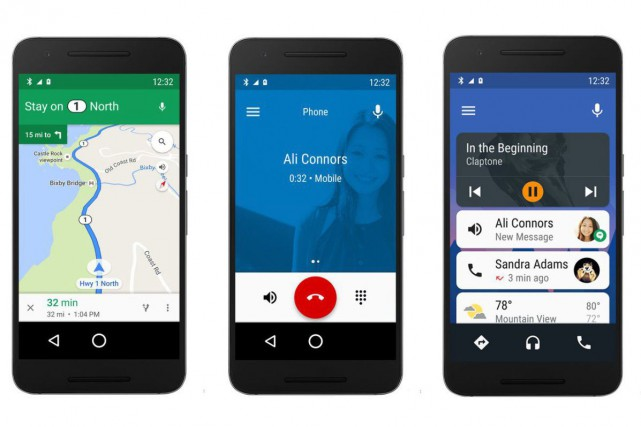 L'application Android Auto (2.0)... (Photo fournie par Android)