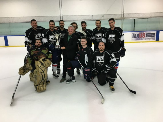 KennLalonde et l'équipe Derek Investment.... (Photo fournie par TD)