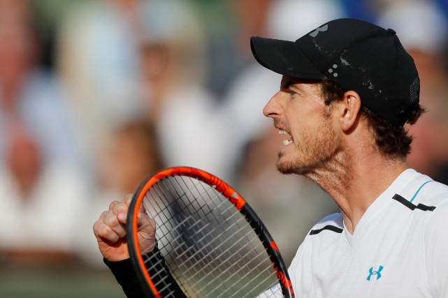 Le numéro 1 mondial Andy Murray a dominé... (REUTERS)