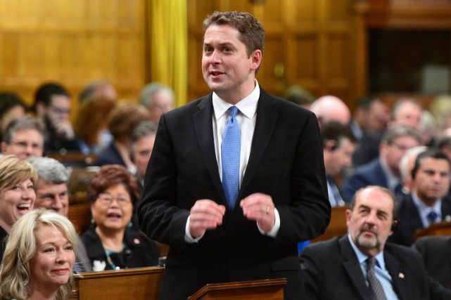 Andrew Scheer... (PHOTO PC)
