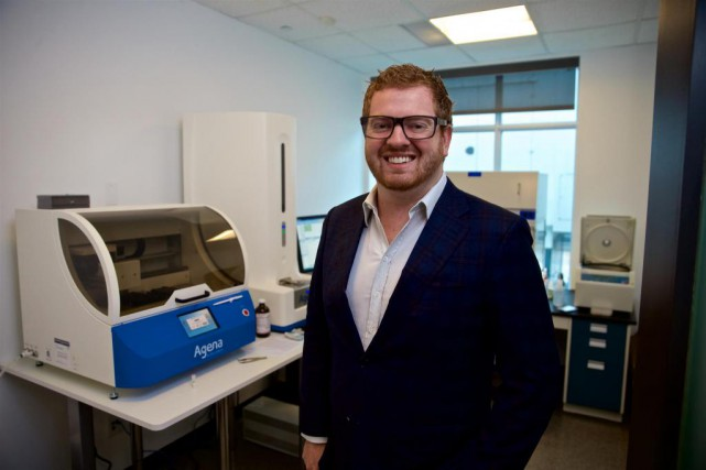 Étienne Crevier, PDG de BiogeniQ... (Photo André Pichette, La Presse)