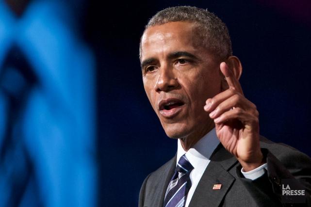 Barack Obama... (Archives, La Presse)
