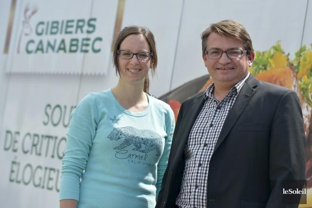 Marie-Pier Côté, directrice des opérations et Emmanuel Lucas,... (Le Soleil, Yan Doublet)