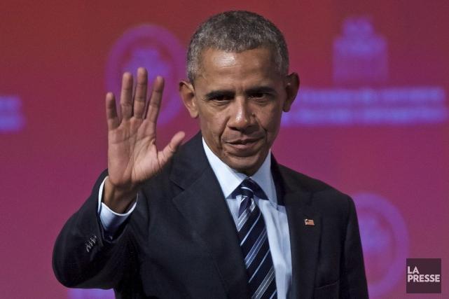 Barack Obama... (La Presse, André Pichette)