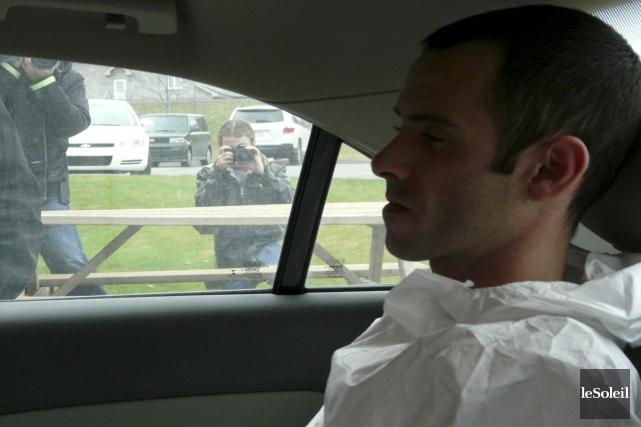Jean-Francois Roy est accusé du meurtre du chauffeur... (Photothèque Le Soleil)