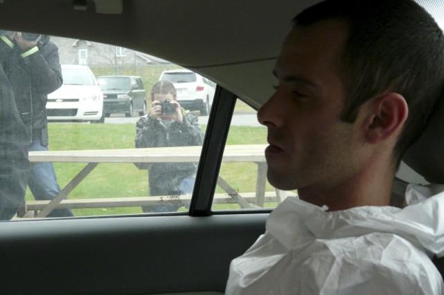 Jean-Francois Roy aurait tué le chauffeur de taxi... (Collaboration spéciale Luce Dallaire)