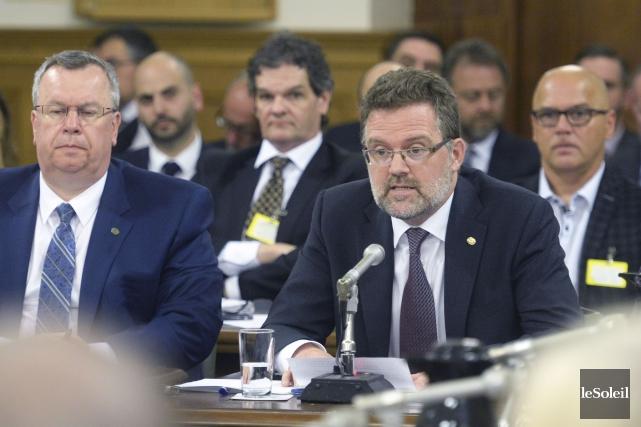 Le maire de Gatineau, Maxime Pedneaud-Jobin, est allé... (Jean-Marie Villeneuve, Le Soleil)