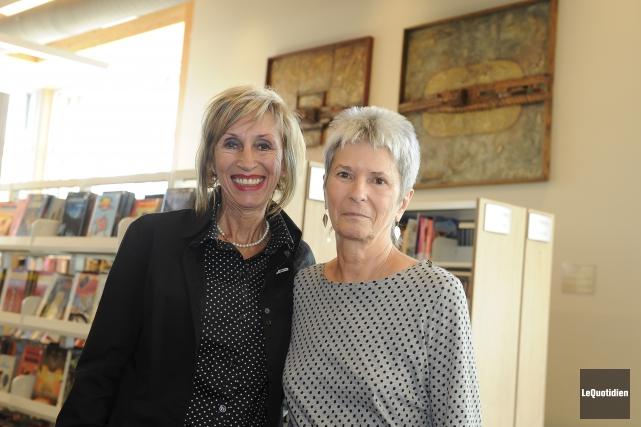 La conseillère municipale de Saguenay, Sylvie Gaudreault, ainsi... (Photo Le Quotidien, Gimmy Desbiens)