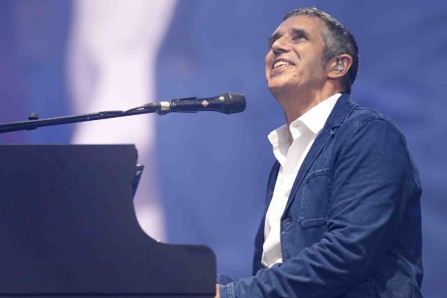Julien Clerc chantait au Festival d'été, le 14... (Photothèque Le Soleil, Yan Doublet)