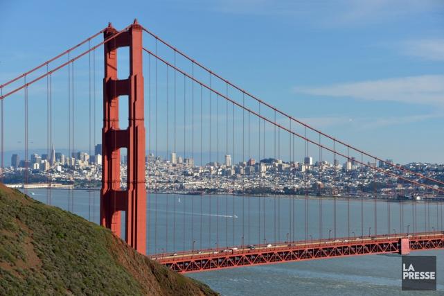 Le Golden Gate à San Francisco... (Photo archives La Presse)