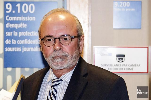 L'ancien président de la FTQ, Michel Arsenault, peu... (La Presse)