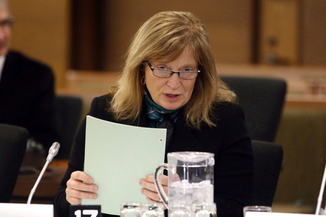La commissaire à l'information du Canada, Suzanne Legault... (PHOTO ARCHIVES LA PRESSE CANADIENNE)