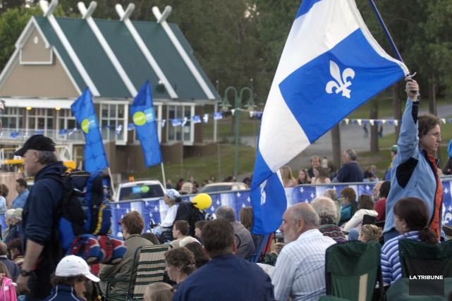 sherbrookoisfete du Québec fete nationale 24 juin fete... (Archives La Tribune)