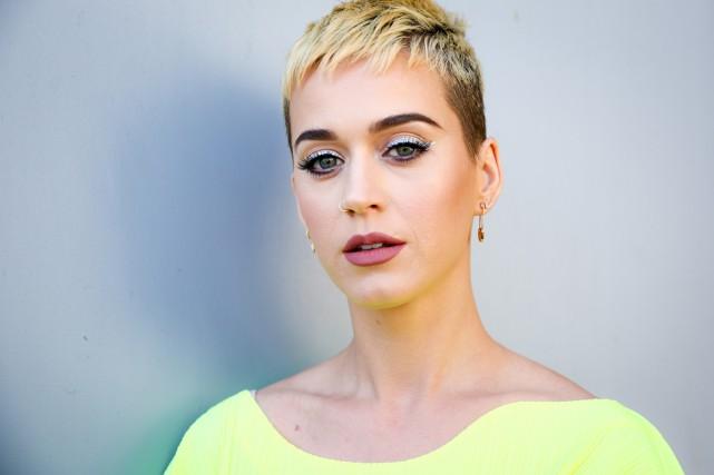 Katy Perry arbore un nouveau look depuis quelques... (PHOTO AFP)