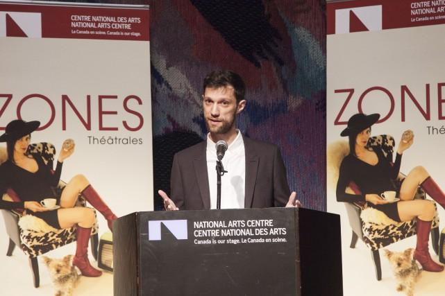 Le directeur artistique Gilles Poulin-Denis a dévoilé la... (Simon Séguin-Bertrand, Le Droit)