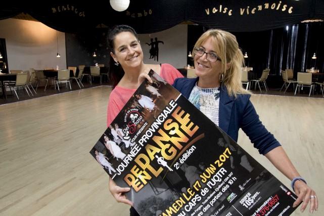Les copropriétaires de l'école de danse, Sonia Livernoche... (Sylvain Mayer)