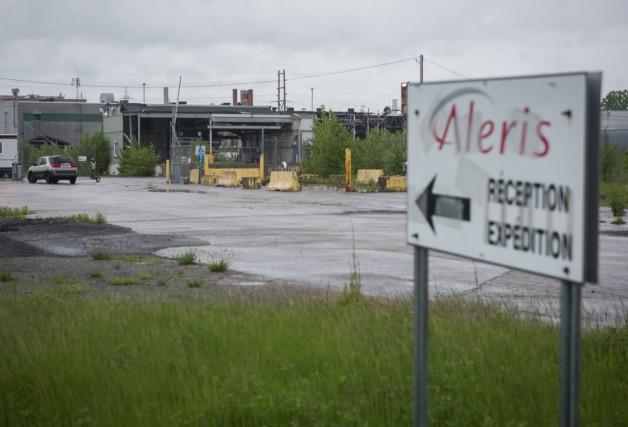 L'usine d'Alerie fermée depuis neuf ans.... (François Gervais)