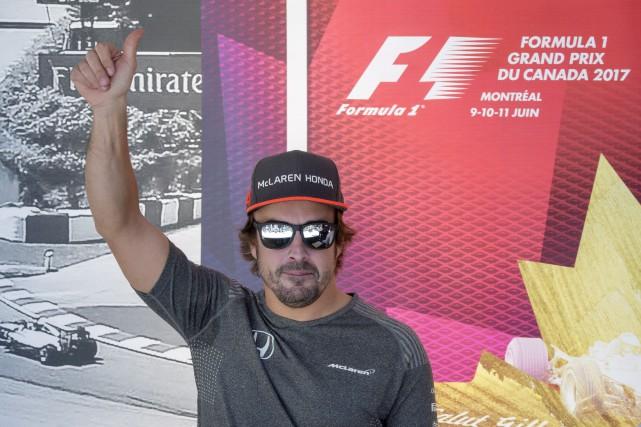 Fernando Alonso a bien apprécié son expérience aux... (La Presse canadienne, Paul Chiasson)