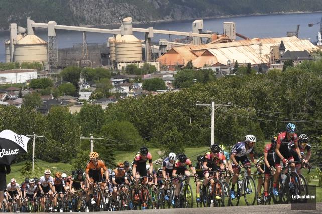 Même si les coureurs préféraient de loin la... (Photo Le Quotidien, Michel Tremblay)