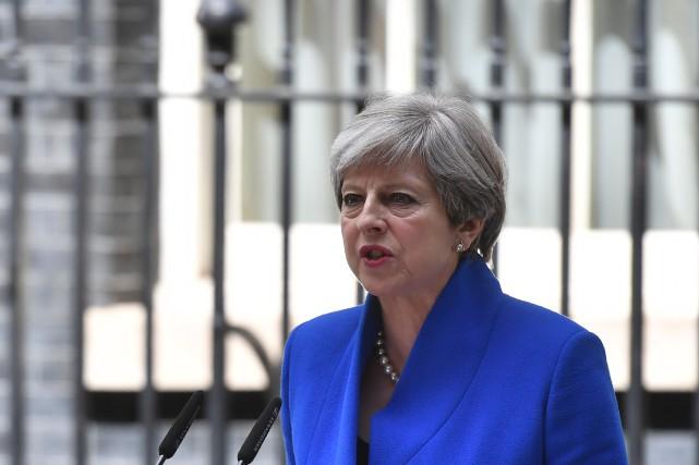 La première ministre conservatrice Theresa May a perdu... (AFP, Ben Stansall)