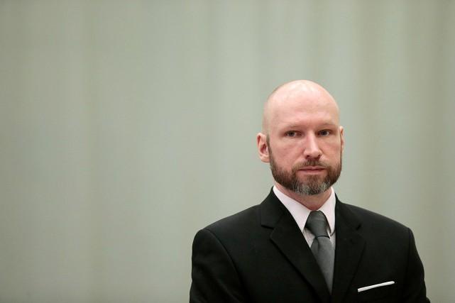 Anders Behring Breivik lors de son dernier passage... (Photo Lise Aaserud, archives REUTERS)