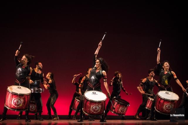 La danse prend d'assaut le centre-ville de Trois-Rivières ce week-end. Voici... (Photo François Gervais Le Nouvelliste)