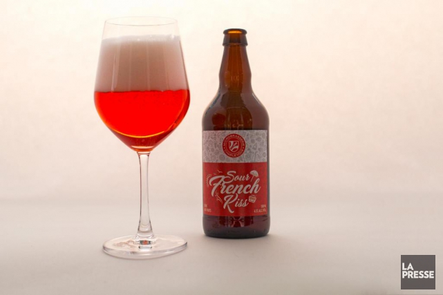 Microbrasserie Charlevoix, Sour French Kiss... (Photo Olivier Jean, La Presse)
