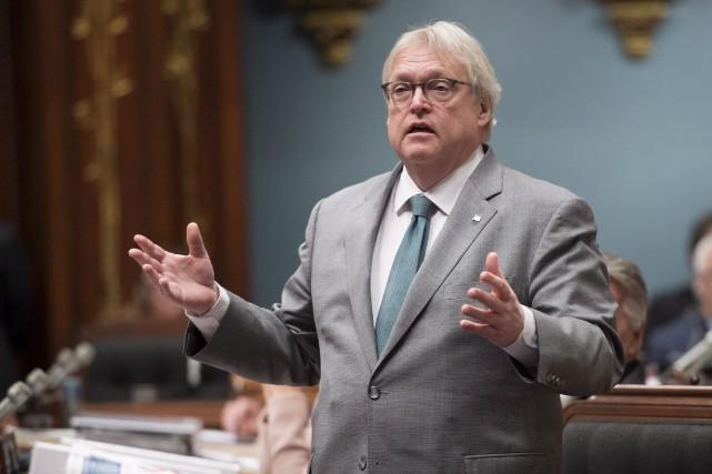 En chambre, vendredi matin, Gaétan Barrette a reconnu... (Archives La Presse canadienne, Jacques Boissinot)