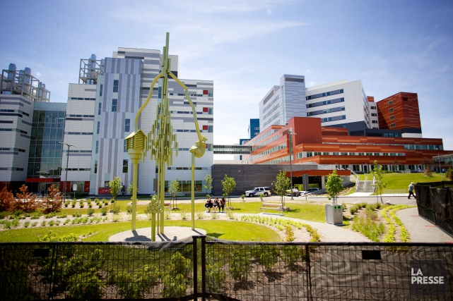 Le Centre de santé universitaire McGill... (PHOTO SARAH MONGEAU-BIRKETT, ARCHIVES LA PRESSE)