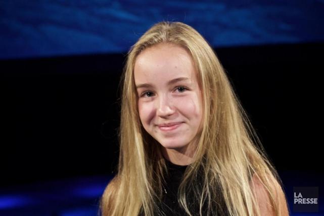 La jeune comédienne Émilie Bierre jouera le rôle... (Photo André Pichette, Archives La Presse)