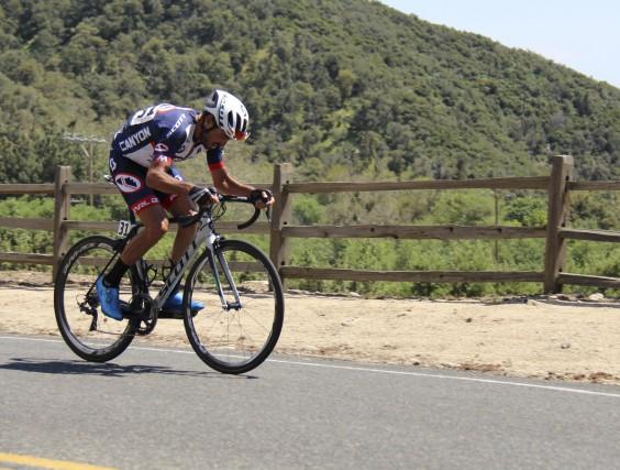 L'Espagnol Francisco Mancebo en est à une 20e... (fournie par Canyon Bicycles, Mike Pratt)