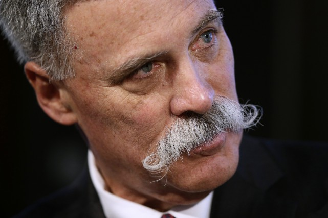 Chase Carey, le président de Formula One Group,... (Photo Manu Fernandez, AP)