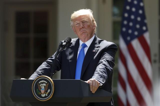 Donald Trump a promis de dire «dans un... (AP, Pablo Martinez Monsivais)