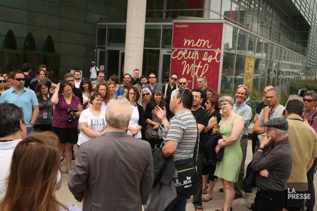Le SFPQ déplore la perte d'emploi de 33... (PHOTO Martin Chamberland, LA PRESSE)