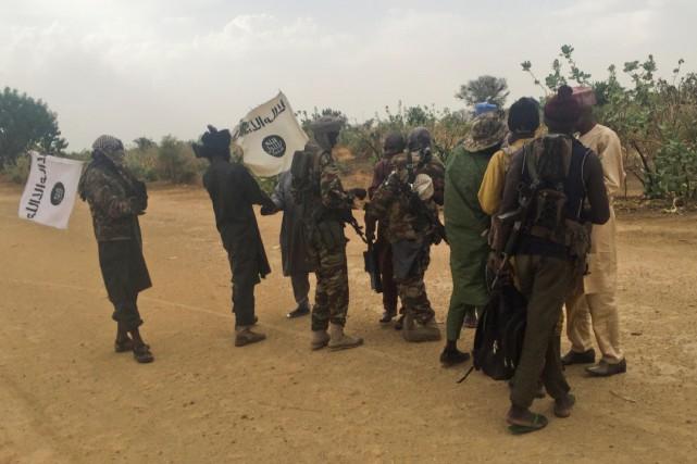 Des militaires de Boko Haram.... (Photo archives, REUTERS)