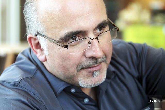 Alain Sanscartier, 53 ans, a fondé le groupe... (Étienne Ranger, Le Droit)