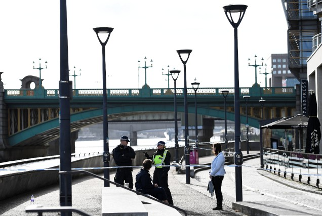 Le pont de Londres où a eu lieu... (PHOTO Dylan Martinez, REUTERS)