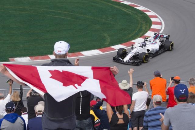 Lance Stroll, qui a eu la chance vendredi... (La Presse canadienne, Jacques Boissinot)