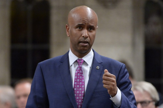 Le ministre de l'Immigration Ahmed Hussen accepte que la... (Photo Adrian Wyld, La Presse canadienne)