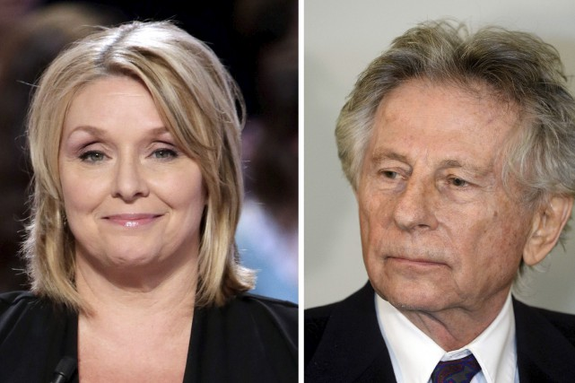 Samantha Geimer a été violée par le cinéaste... (AFP, Janek SKARZYNSKI et Kenzo TRIBOUILLARD)