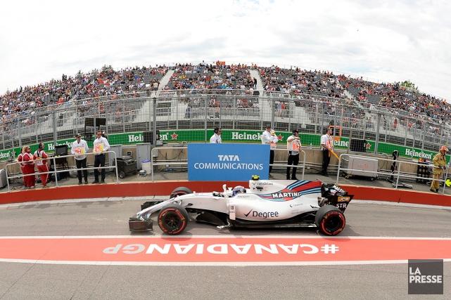 Le Grand Prix du Canada enregistre cette année... (PHOTO BERNARD BRAULT, LA PRESSE)