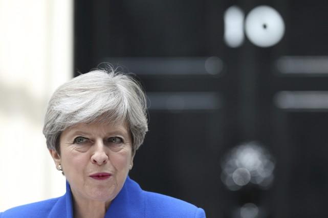 Boris Johnson a déclaré que Mme May est... (AP, Jonathan Brady)
