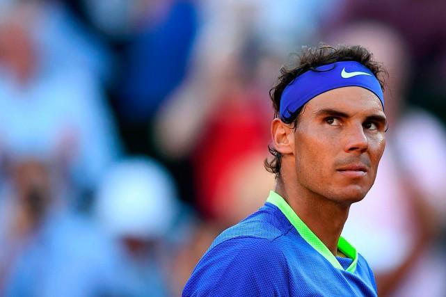 Rafael Nadaln'a pas concédé de set depuis le... (PHOTO GABRIEL BOUYS, AGENCE FRANCE-PRESSE)