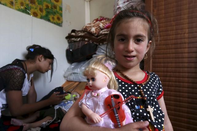 Christina a été enlevée par des djihadistes du... (AFP, Safin Hamed)
