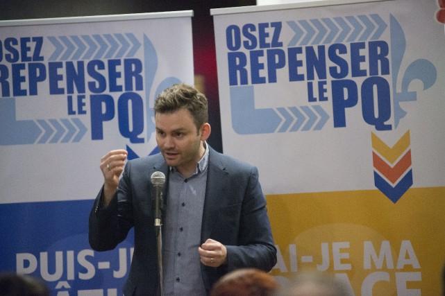 Paul St-Pierre-Plamondon... (Photo Julien Chamberland, Archives Spectre Média)