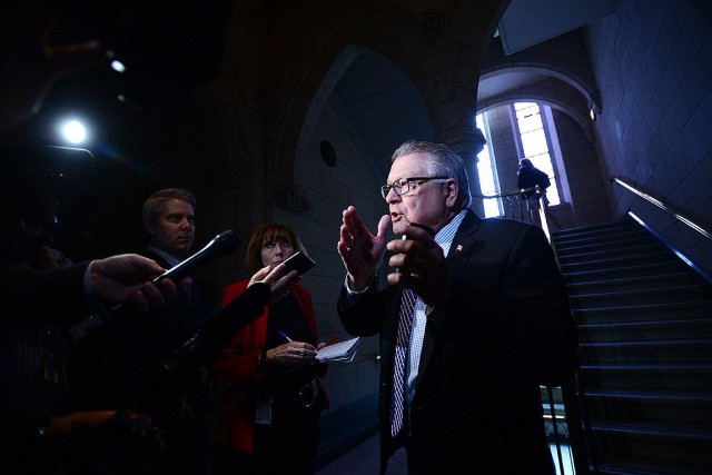 Le ministre de la Sécurité publique, Ralph Goodale.... (Photo Sean Kilpatrick, archives La Presse canadienne)