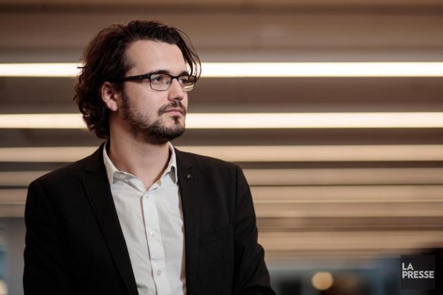 Julien David-Pelletier, directeur général sortant de Juripop.... (PHOTO HUGO-SÉBASTIEN AUBERT, LA PRESSE)
