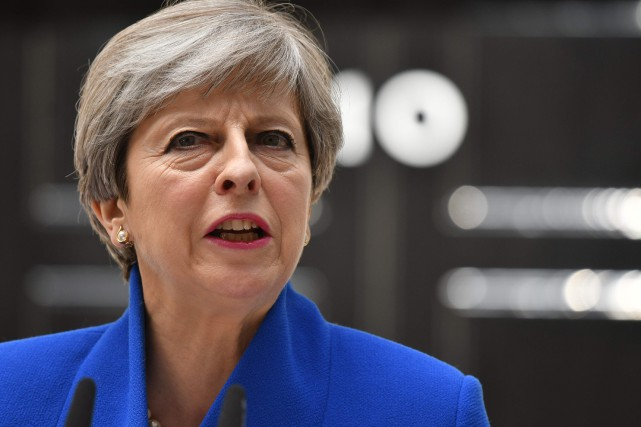 La première ministre britannique Theresa May a confirmé... (Photo Justin TALLIS, AFP)